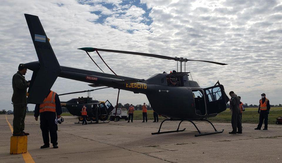 FAdeA: Aprobado el contrato para la inspección y modernización de una nueva tanda de helicópteros Agusta Bell AB-206B-1 Jet Ranger Fadea213