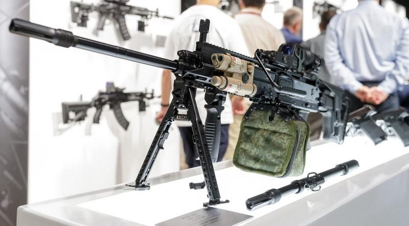 Kalashnikov revela la nueva ametralladora RPL-20 LMG de 5.45x39 mm  Kalash10
