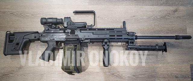 Kalashnikov revela la nueva ametralladora RPL-20 LMG de 5.45x39 mm  Kalash12