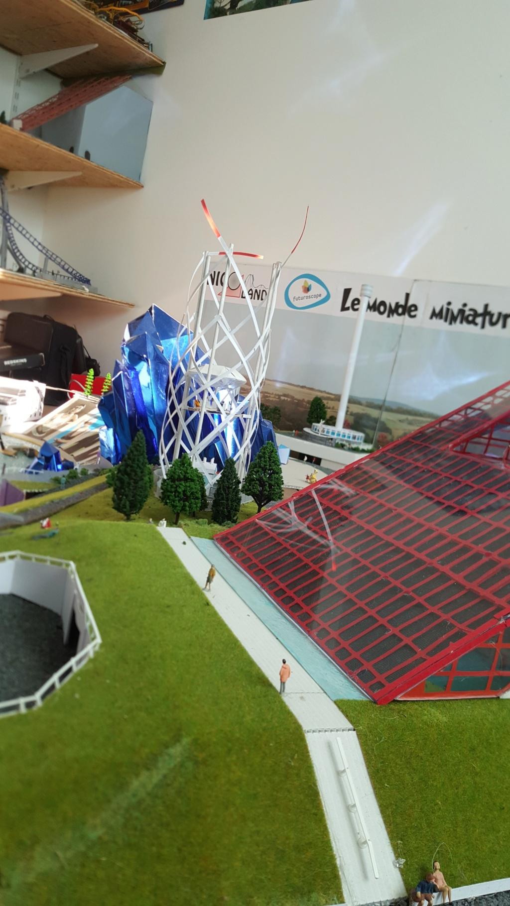 Maquettes de pavillons du Futuroscope par Nicoland - Page 5 20190212