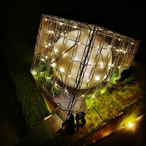 Maquettes de pavillons du Futuroscope par Nicoland - Page 7 91904410