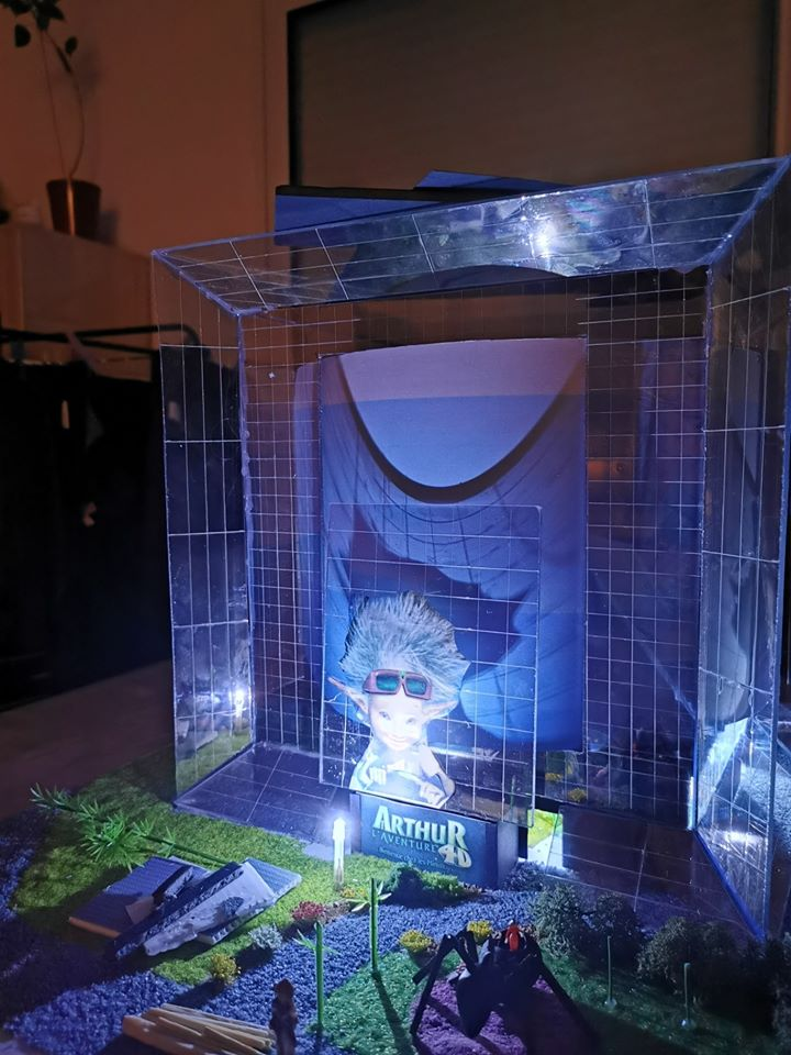 Maquettes de pavillons du Futuroscope par Nicoland - Page 7 98130110