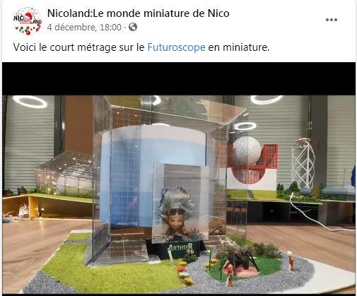 Maquettes de pavillons du Futuroscope par Nicoland - Page 9 Captur12