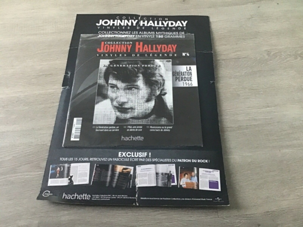 Vinyls avec Fascicule Collection Hachette Johnny Hallyday Vinyl_10