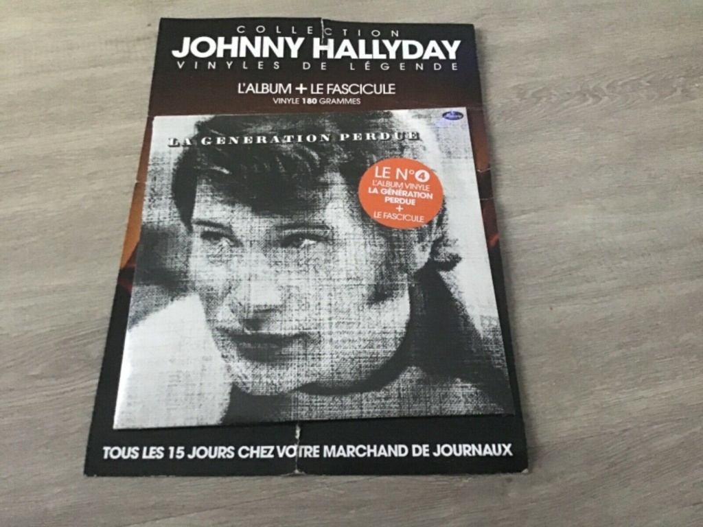 Vinyls avec Fascicule Collection Hachette Johnny Hallyday Vinyl_11