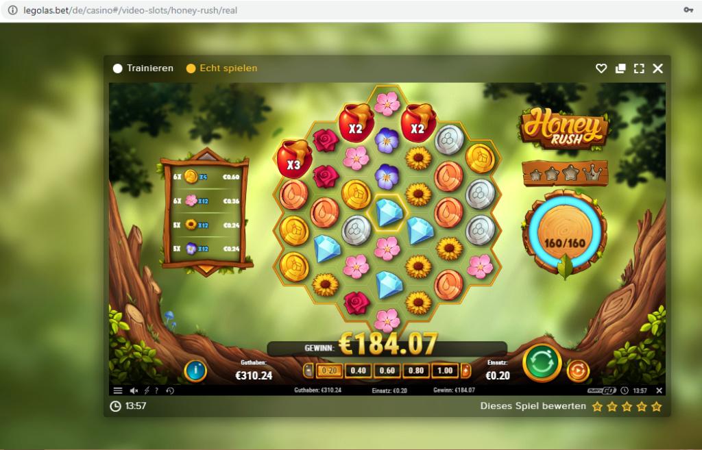 Screenshoty naszych wygranych (minimum 200zł - 50 euro) - kasyno - Page 33 Honey10