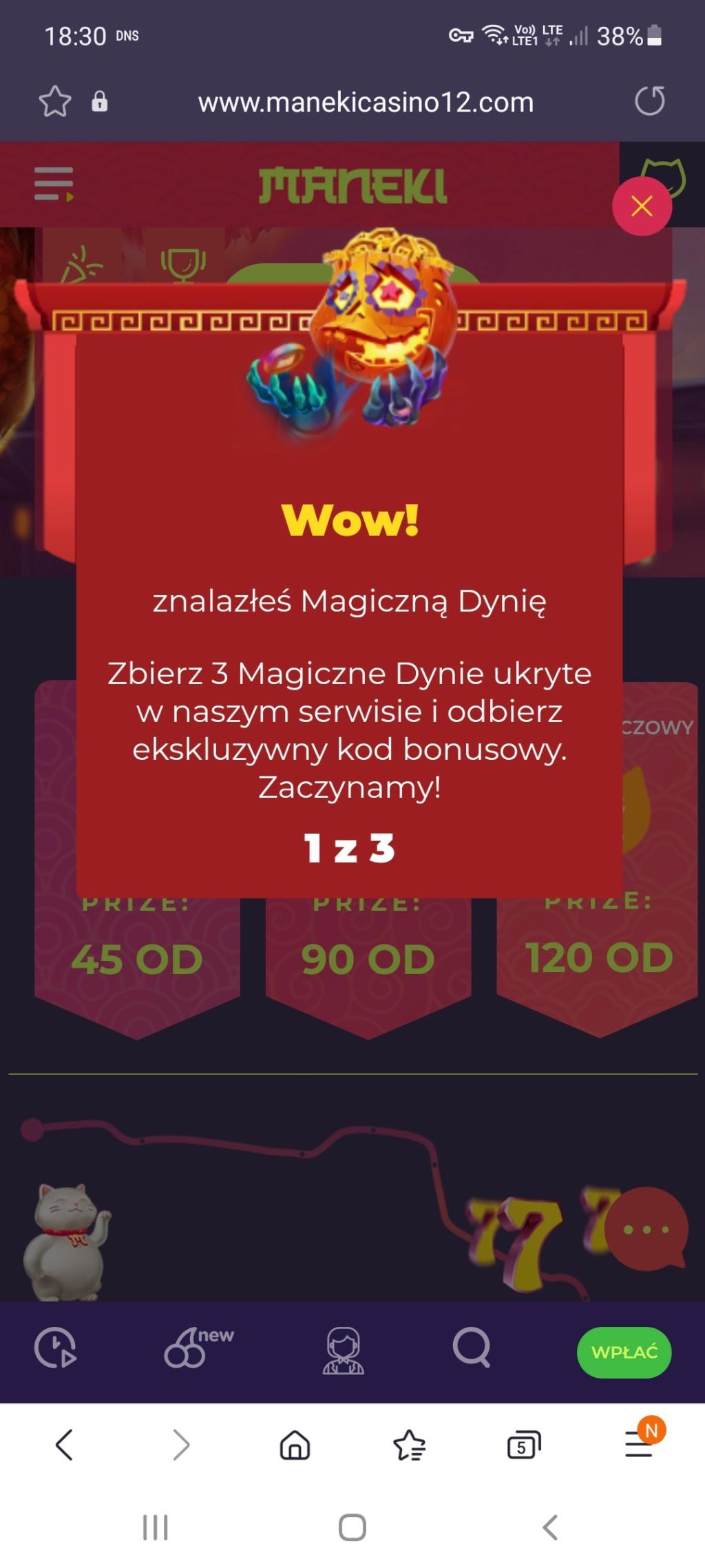 Maneki Casino 10 free spins no deposit bonus - Page 5 Screen22