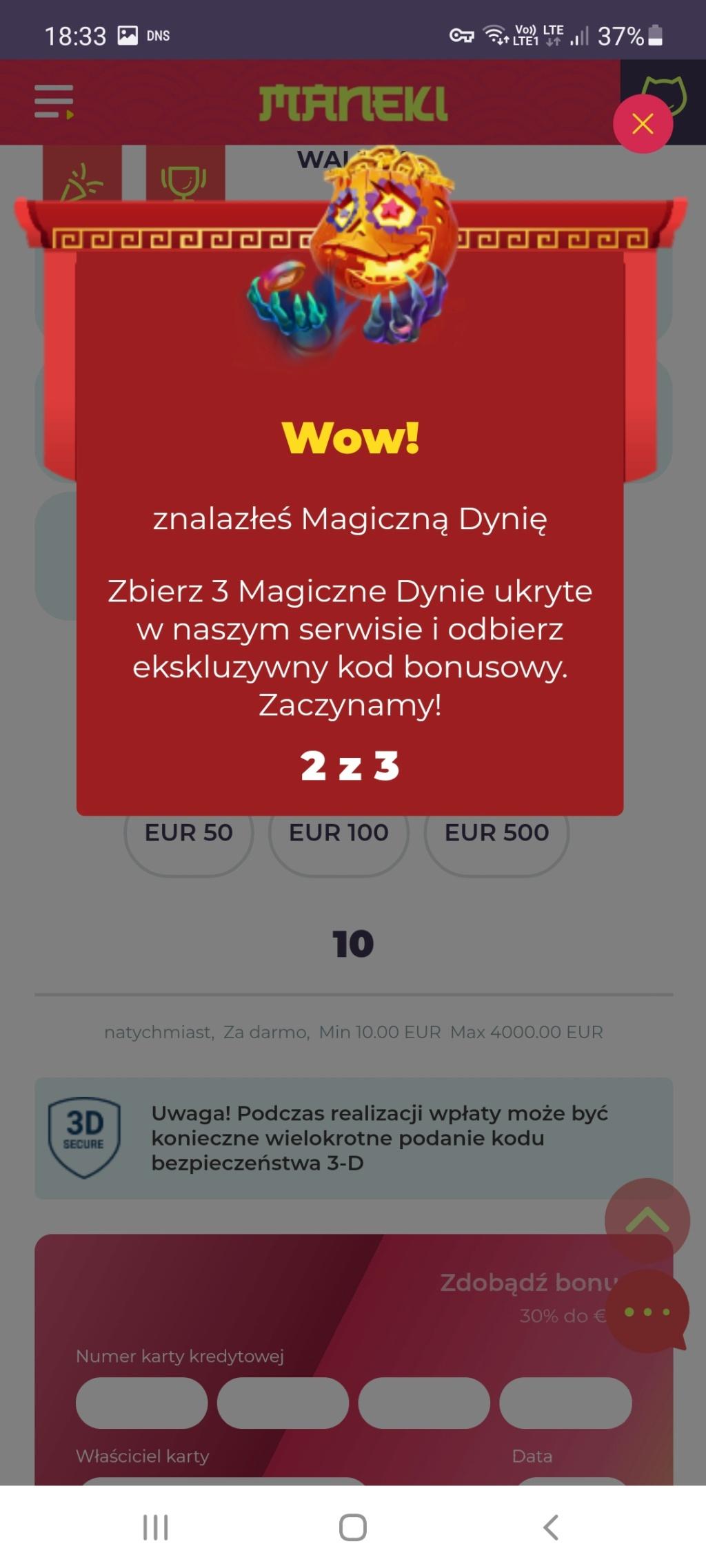 Maneki Casino 10 free spins no deposit bonus - Page 5 Screen23