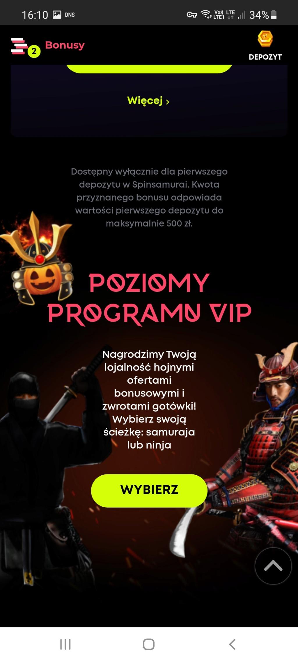 Spin Samurai kasyno online 20 darmowych spinów bez depozytu (exclusive) - Page 2 Screen26