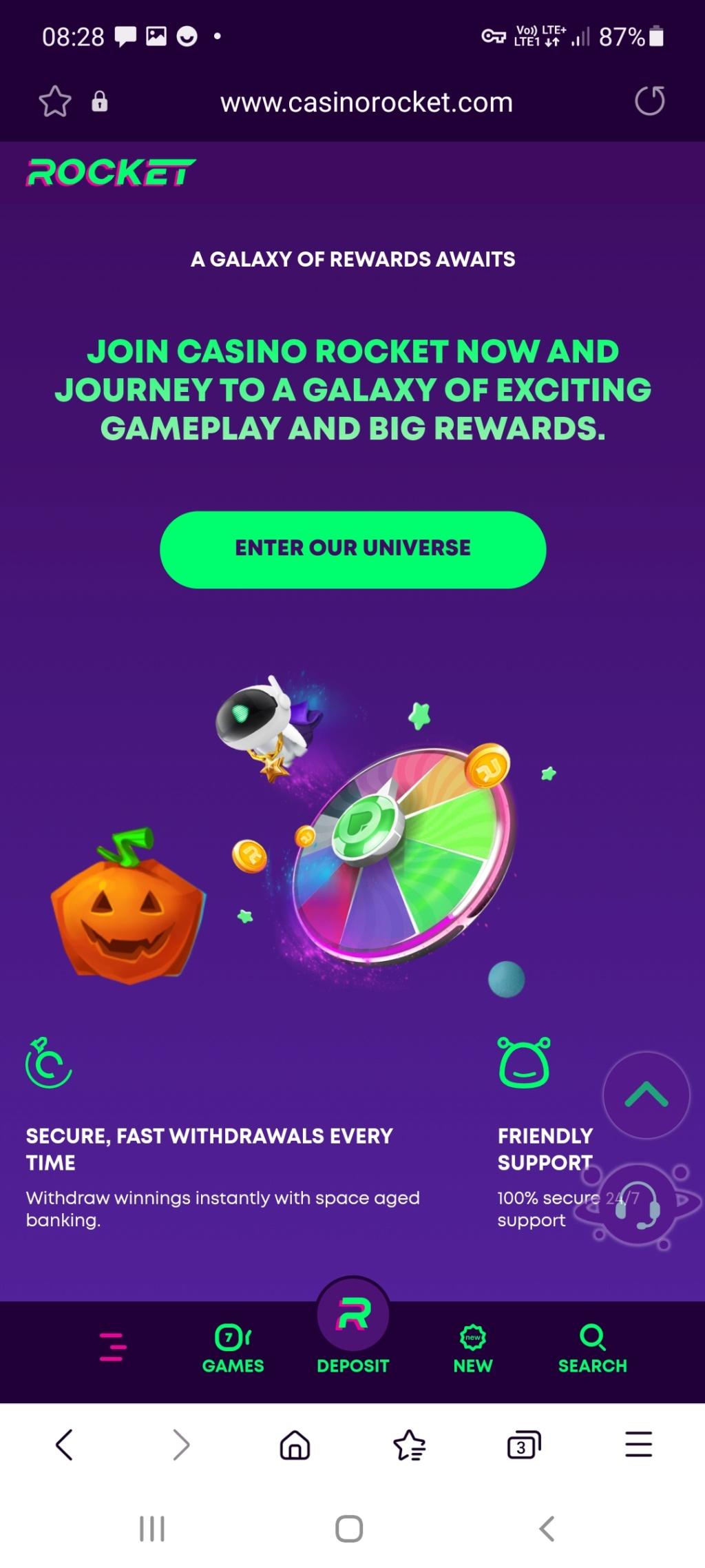 Rocket kasyno online darmowe promocje Screen29