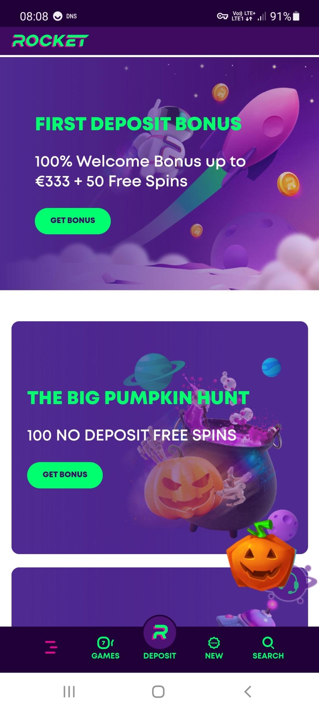 Rocket kasyno online darmowe promocje Screen31