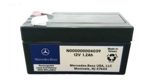 O que é uma bateria auxiliar de Mercedes-Benz - diferença modelos - como corrigir mau funcionamento  Bateri11