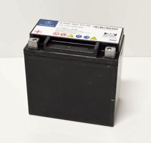 O que é uma bateria auxiliar de Mercedes-Benz - diferença modelos - como corrigir mau funcionamento  S-l30011