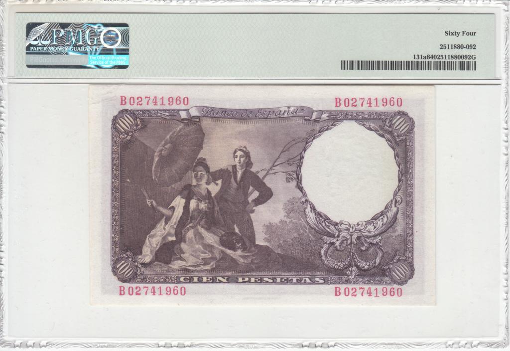 100 Pesetas de 1946 Goya-310