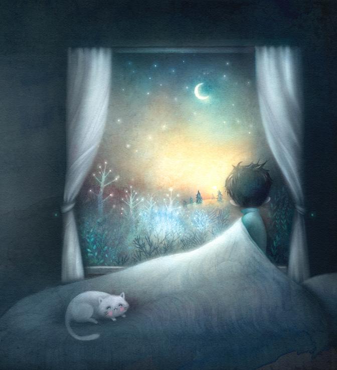 bonzour bonne zournée et bonne nuit notre ti nid za nous - Page 5 Nuit_110