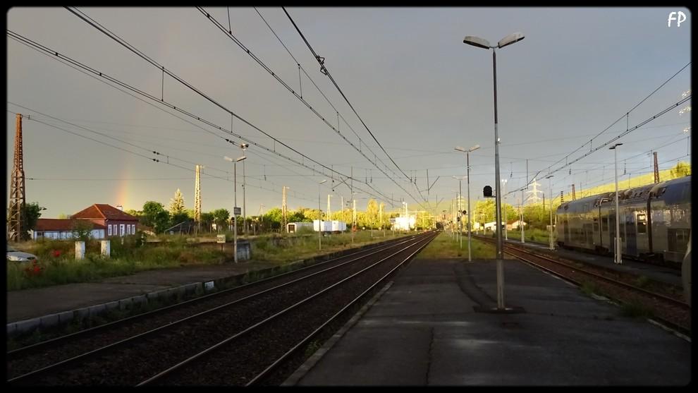 La gare de Montréjeau à l'échelle N Mtj-2610