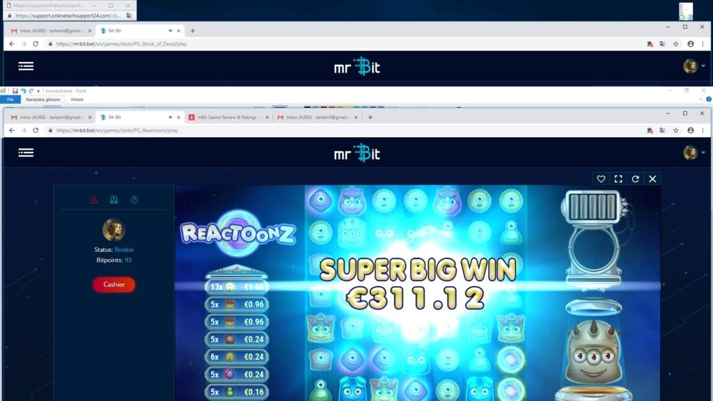 Screenshoty naszych wygranych (minimum 200zł - 50 euro) - kasyno - Page 14 Reacto10
