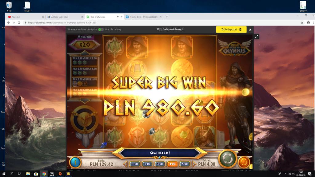 Screenshoty naszych wygranych (minimum 200zł - 50 euro) - kasyno - Page 14 Unibet10