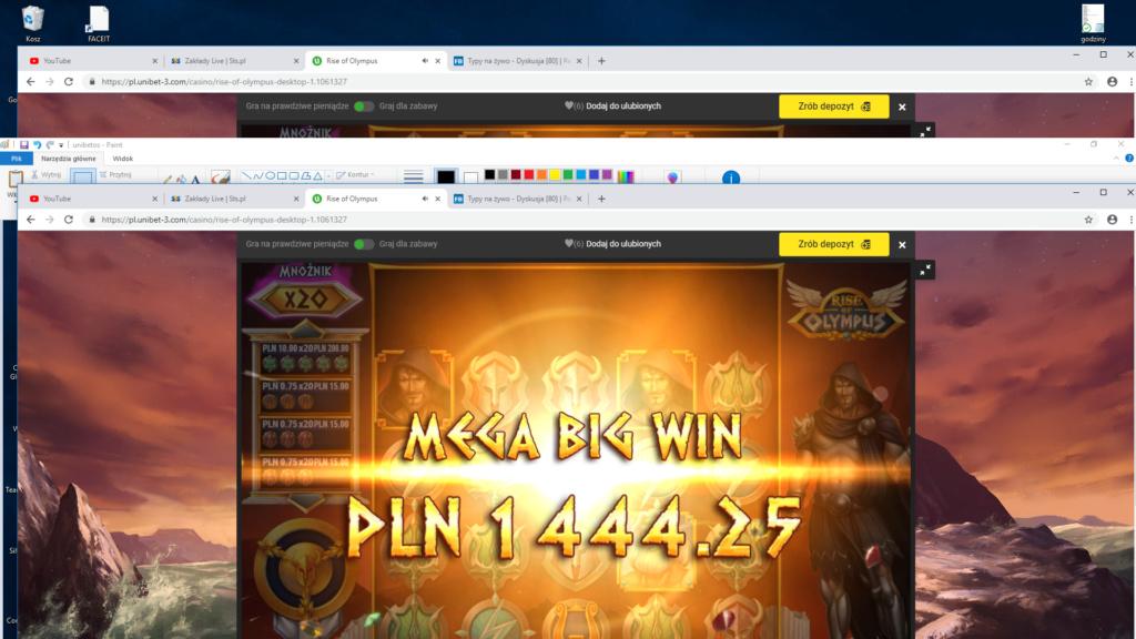 Screenshoty naszych wygranych (minimum 200zł - 50 euro) - kasyno - Page 14 Unibet11