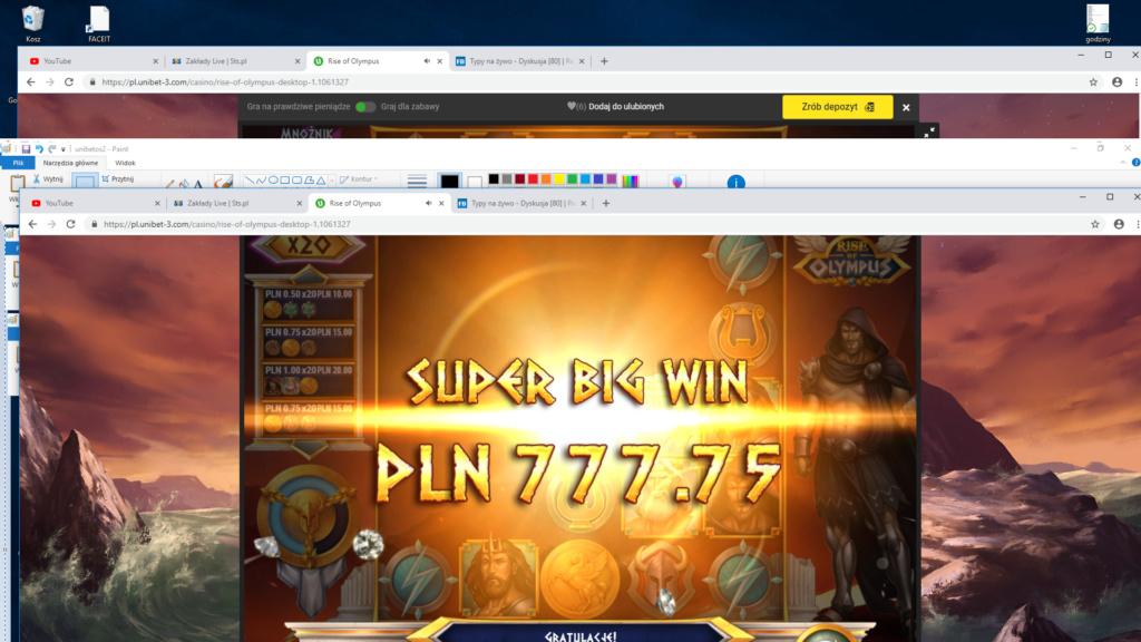 Screenshoty naszych wygranych (minimum 200zł - 50 euro) - kasyno - Page 14 Unibet12