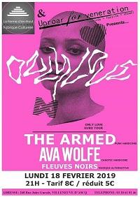 The Armed + Ava Wolfe + Fleuves Noirs  - 18/02/2018 @Villeneuve d'ascq 1802_a10