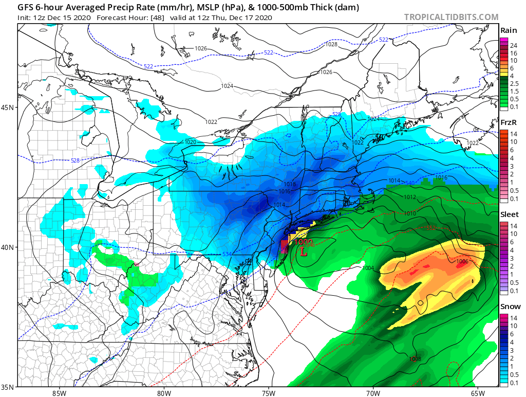 12/16 to 12/17 Godzilla - 1st Call Snow Map - Page 4 Gfs_ms12