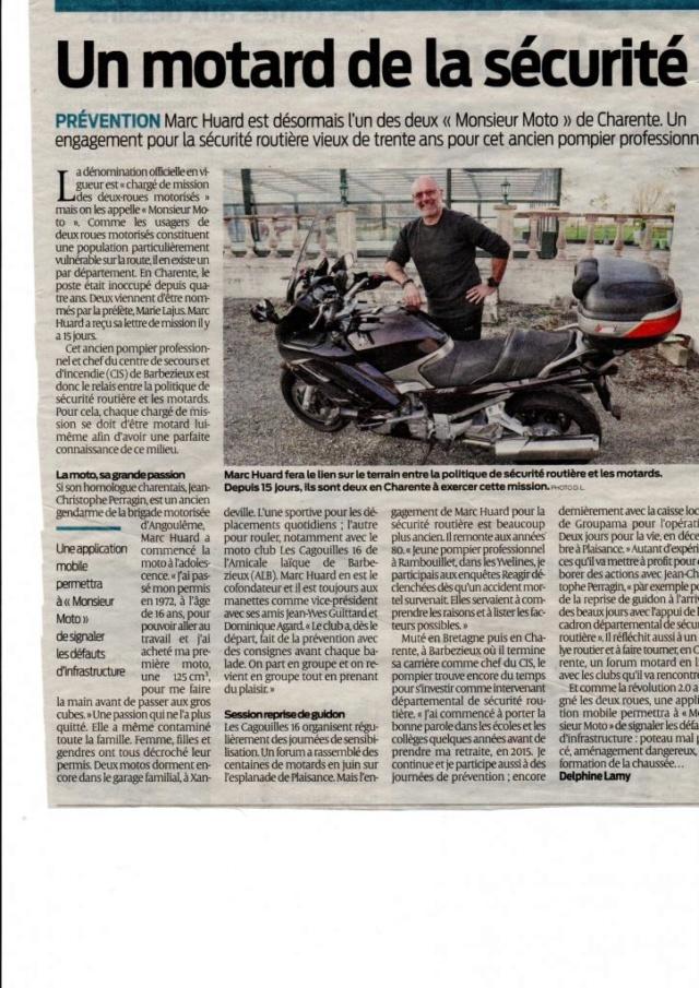 Un monsieur sécurité moto parmi nous Idsr2012