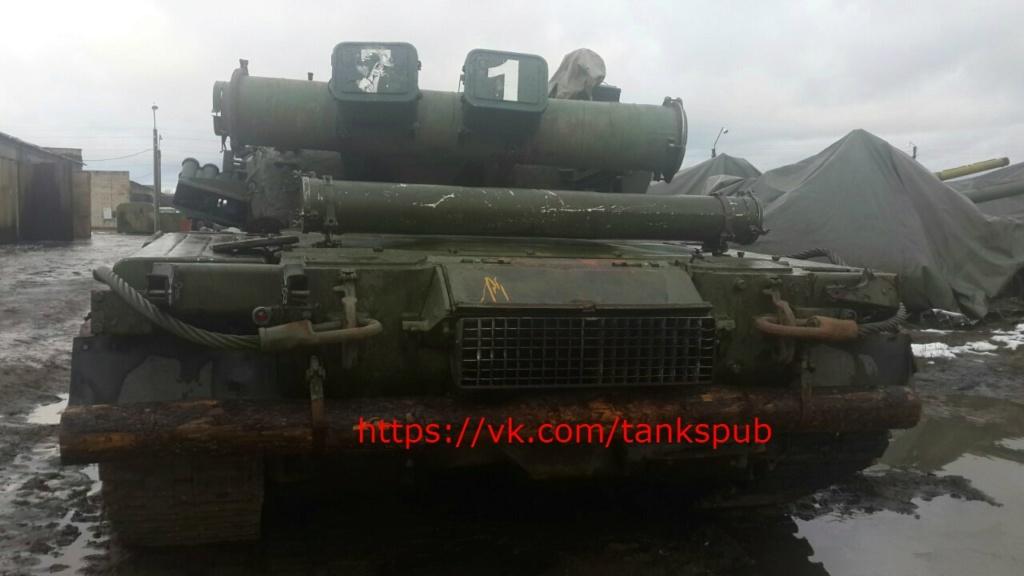 Т-80УК («Объект 630А») - командирский танк 00-5a15
