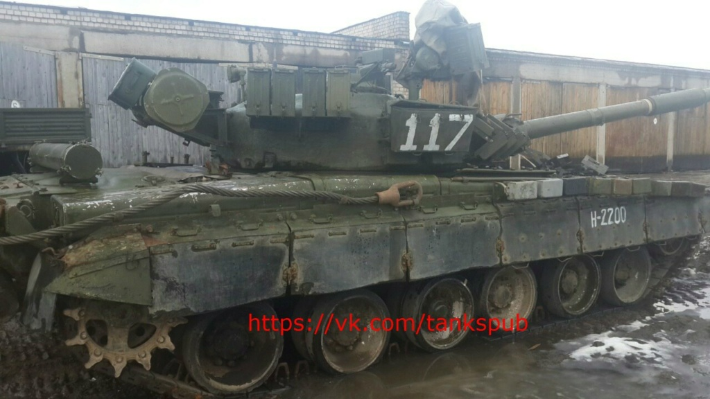 Т-80УК («Объект 630А») - командирский танк 00-5a16