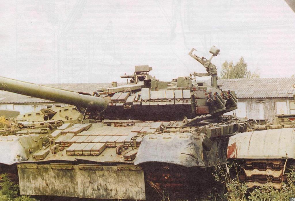 Т-80УК («Объект 630А») - командирский танк 00-714