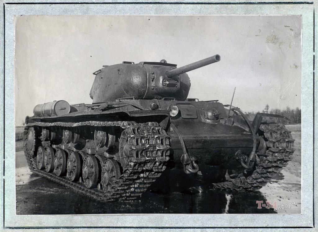 КВ-1c - тяжёлый танк 00-yak26