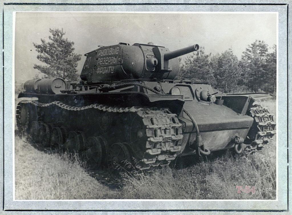 КВ-8 - тяжёлый огнемётный танк 00-yak34