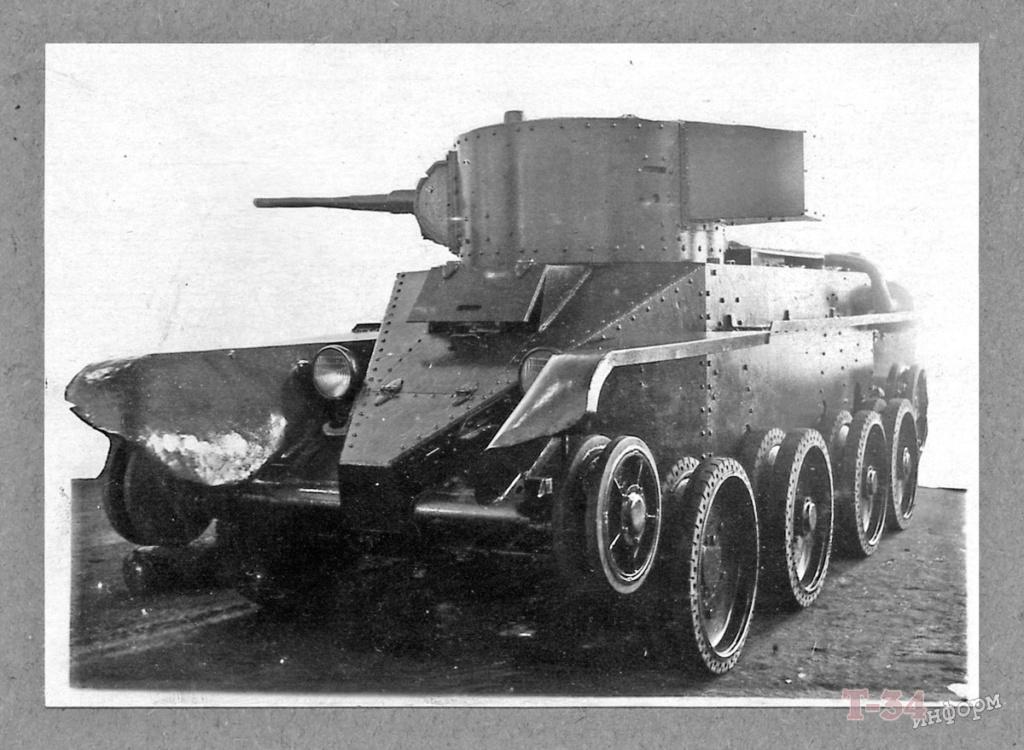 БТ-5 - лёгкий колесно-гусеничный танк 00-yak53