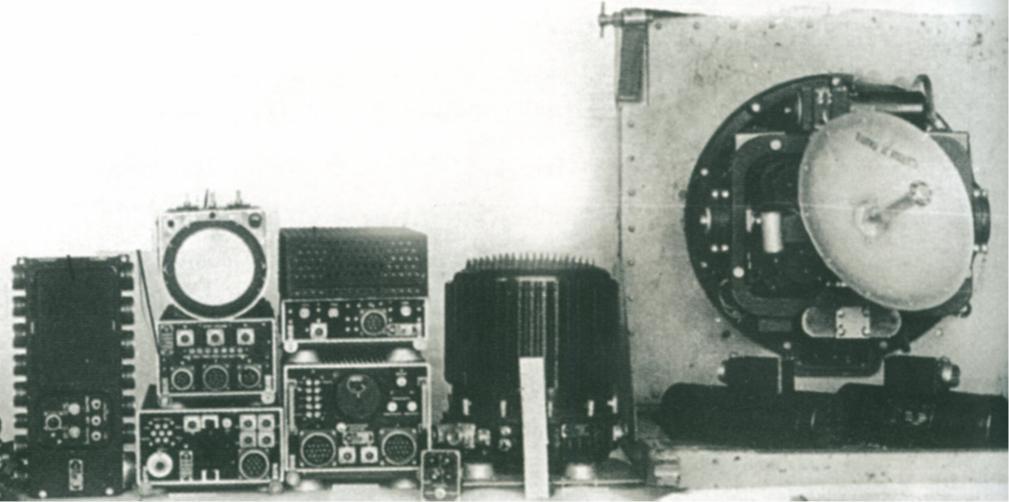 «Коршун» - бортовая радиолокационной станции перехвата 00112
