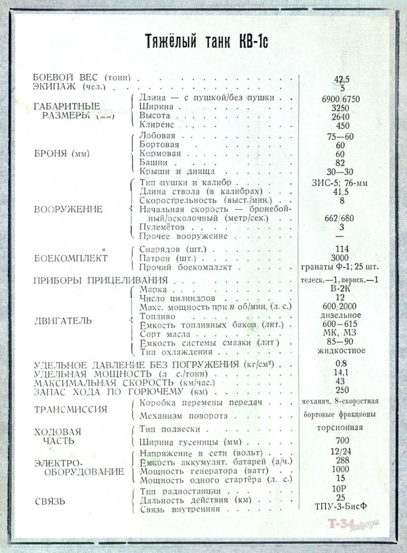 КВ-1c - тяжёлый танк 00116