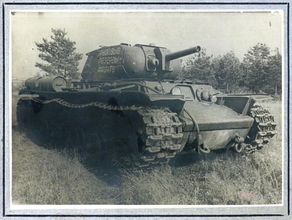КВ-8 - тяжёлый огнемётный танк 0027
