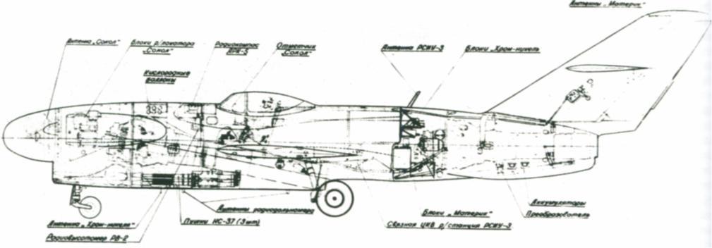 РП-6 «Сокол» - РЛС перехвата и прицеливания 417