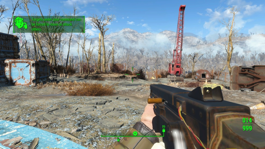 Fallout 76 10 mm SMG port to Fallout 4 20190511