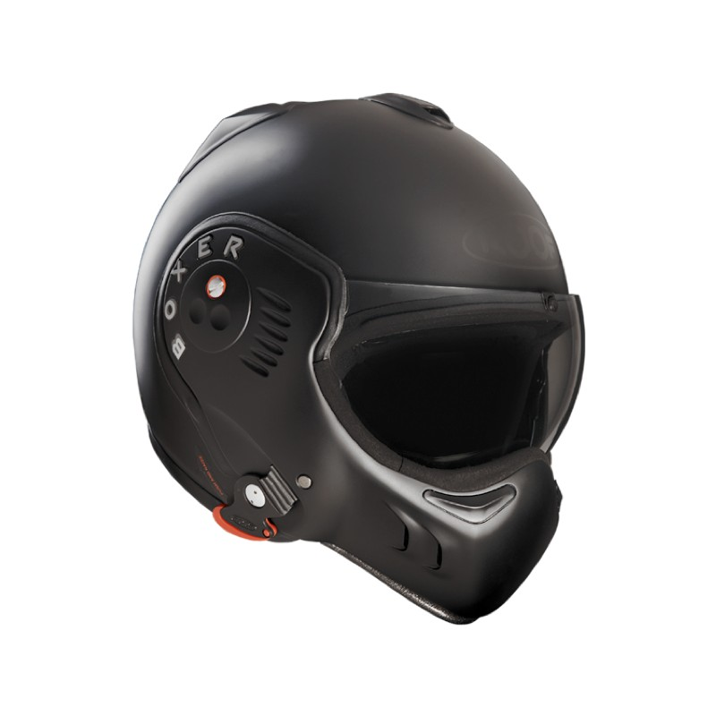 Casque Scorpion Exo Combat et Boxer V8 Full Black Casque10