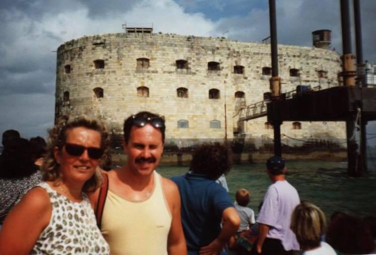 Photos anciennes du Fort Boyard 45745310