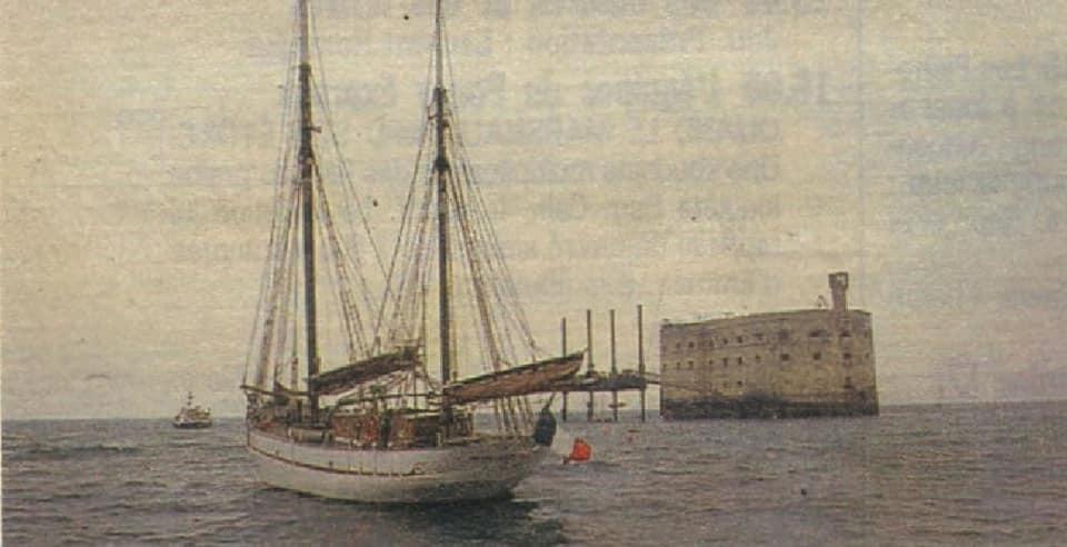 Photos anciennes du Fort Boyard - Page 2 48929010