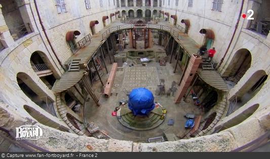 Existe-t-il des photos de la rénovation de la salle du trésor en 2014 ? Fort-b19