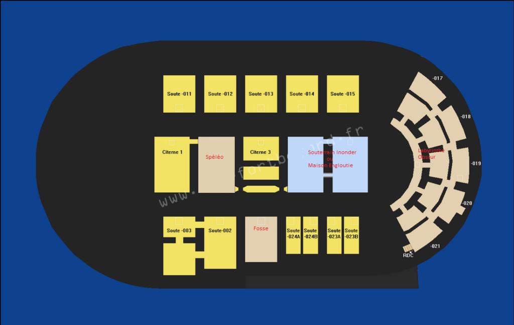 """Reproduction 3D de Fort Boyard par """"Amateur Three D"""" - Page 7 Plan-f12"""
