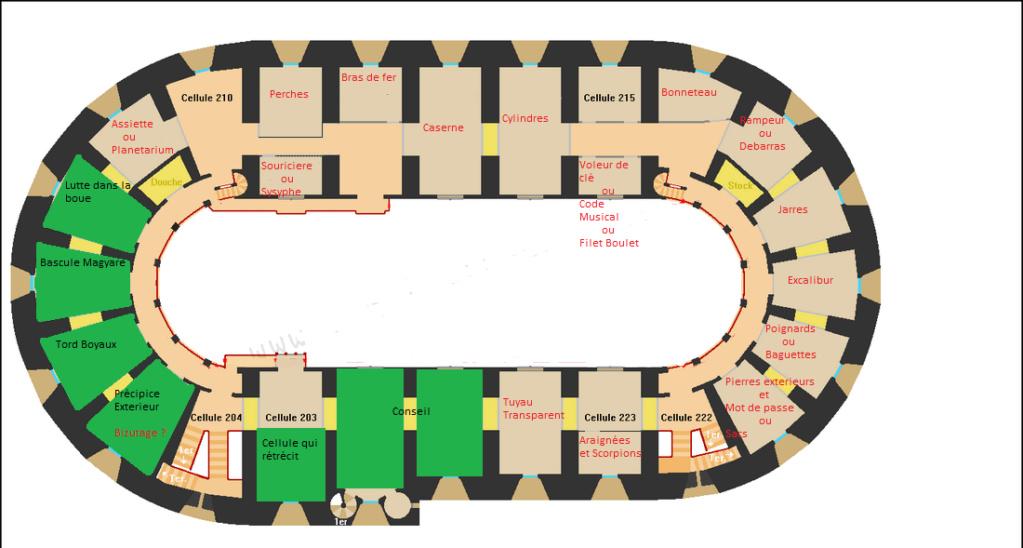 """Reproduction 3D de Fort Boyard par """"Amateur Three D"""" - Page 7 Plan-f16"""