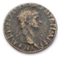 Une monnaie difficille à lire IIe ou IIIe Chaa1210