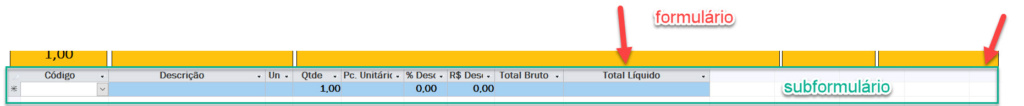 Ajuste de colunas automaticamente do subformulário de acordo com tamanho do formulário principal Duvida10