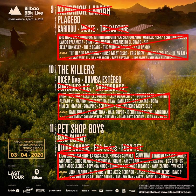 BBK LIVE 2021 8-9-10 julio: Killers, Bad Bunny y Pet Shop Boys dentro, ¿se cae Kendrick Lamar? Se viene el drama - Página 11 Cartel11