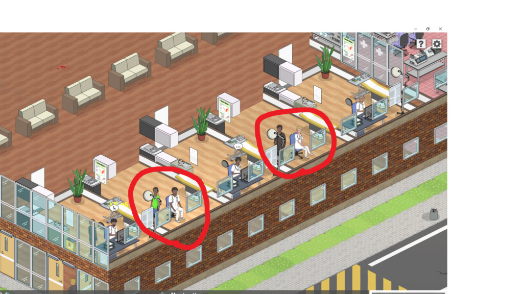 [UNRESOLVED NEED MORE INFO] Emergency zombie doctor and patient Bugbug11