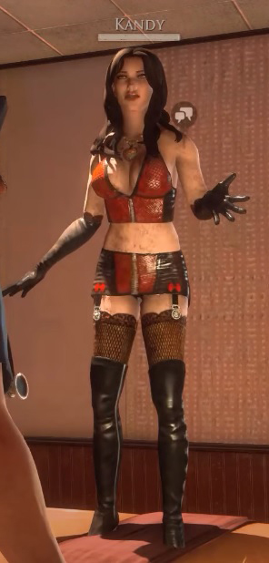 2 - Top 3 female characters from Video Games that should be made Kandyd10