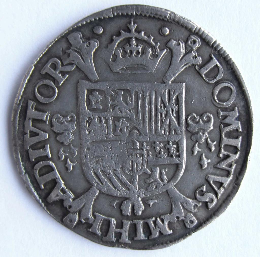 1/5 thaler de Felipe II de Utrecht, 1571 15_duc11